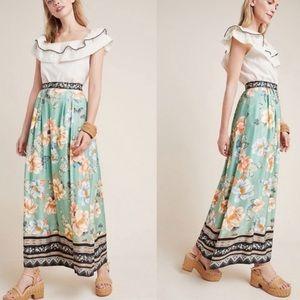 Farm Rio / Anthropologie Tropical Maxi Skirt!